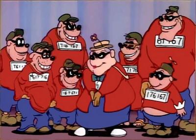 Ladrões - Irmãos Metralha